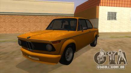 1974 BMW 2002 turbo v1.1 para GTA San Andreas