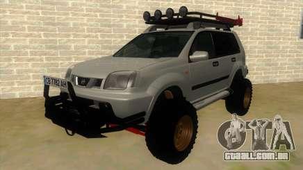 Nissan X-Trail 4x4 Dirty by Greedy para GTA San Andreas