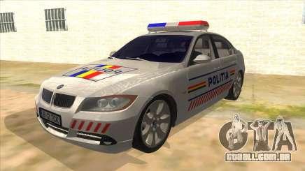 BMW 330XD Romania Police para GTA San Andreas