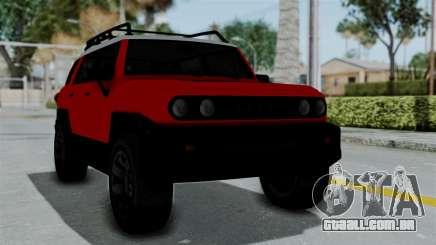 GTA 5 Karin Beejay XL para GTA San Andreas