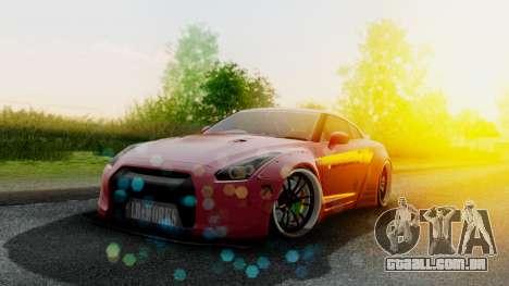 Nissan GTR-R35 Liberty Walk LB performance para GTA San Andreas