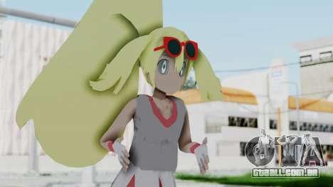 Pokémon XY Série - Korrina v2 para GTA San Andreas