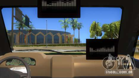 Toyota Kijang Grand Extra Full para GTA San Andreas vista interior