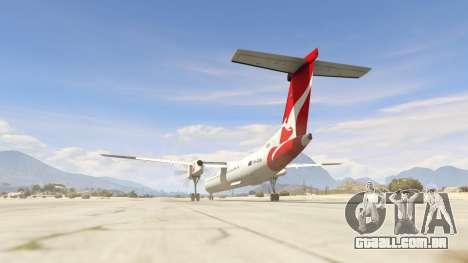 GTA 5 Bombardier Dash 8Q-400 terceiro screenshot