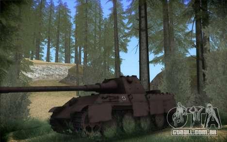 Panther II para GTA San Andreas esquerda vista