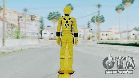 Power Rangers Jungle Fury - Yellow para GTA San Andreas terceira tela