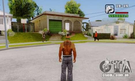 A remoção de zeros a partir da interface para GTA San Andreas
