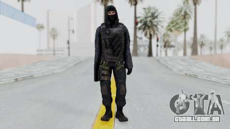 SAS No Gas Mask from CSO2 para GTA San Andreas segunda tela