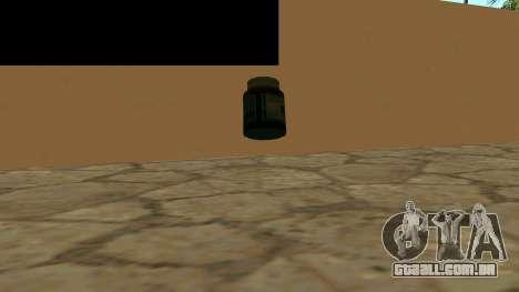 Substitua os ícones e salvar vidas para GTA San Andreas segunda tela