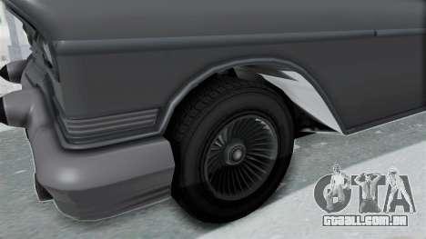 GTA 5 Declasse Tornado No Hifi and Hydro para GTA San Andreas vista traseira