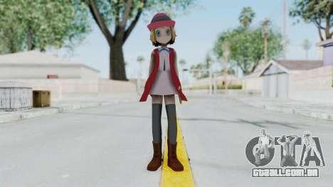 Pokémon XY Série - Serena (Roupa Nova) para GTA San Andreas segunda tela