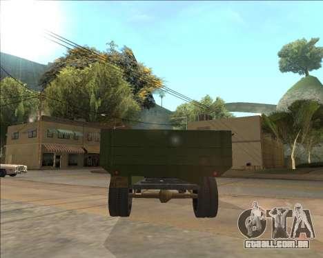 GAZ AA Camião para GTA San Andreas vista direita