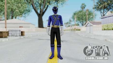 Power Rangers Samurai - Blue para GTA San Andreas segunda tela