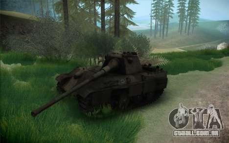 Panther II para GTA San Andreas vista traseira