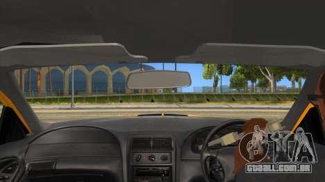 2003 Ford Mustang para GTA San Andreas vista interior