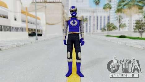 Power Rangers Ninja Storm - Navy para GTA San Andreas segunda tela