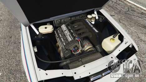 GTA 5 BMW M3 (E30) 1991 v1.3 vista lateral direita
