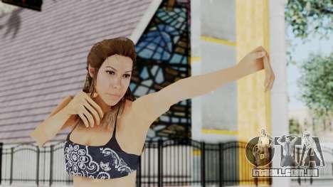 GTA 5 Liz (Elisa Macallen) para GTA San Andreas