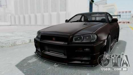 Nissan Skyline R34 GTR 2002 V-Spec II S-Tune para GTA San Andreas