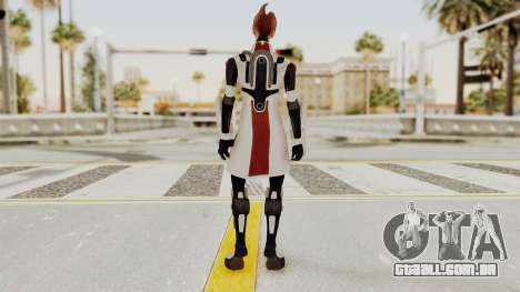 Mass Effect 2 Mordin Solus para GTA San Andreas terceira tela