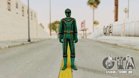 Power Rangers Mystic Force - Green para GTA San Andreas segunda tela