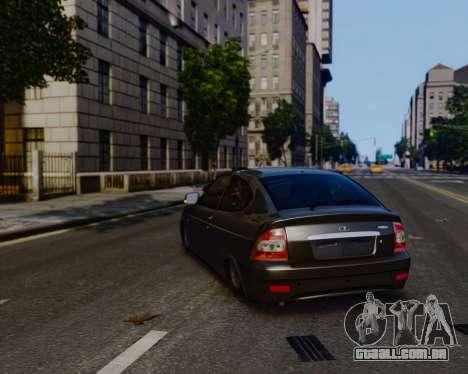 Lada Priora Coupe para GTA 4 esquerda vista