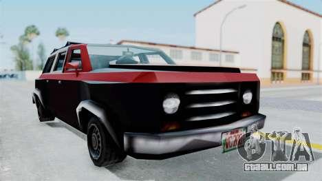 VCS Gang Rancher para GTA San Andreas vista direita