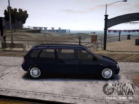 VAZ Kalina 1117 7-porta para GTA 4 vista de volta