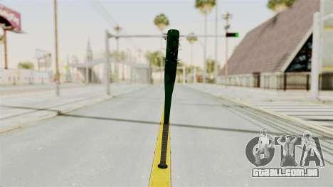 Nail Baseball Bat v1 para GTA San Andreas segunda tela