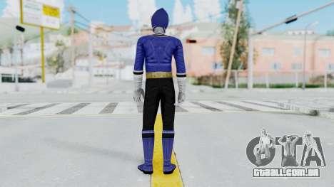 Power Rangers Samurai - Blue para GTA San Andreas terceira tela