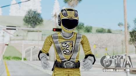 Power Rangers RPM - Yellow para GTA San Andreas
