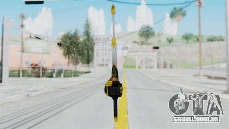 Saber Dice para GTA San Andreas