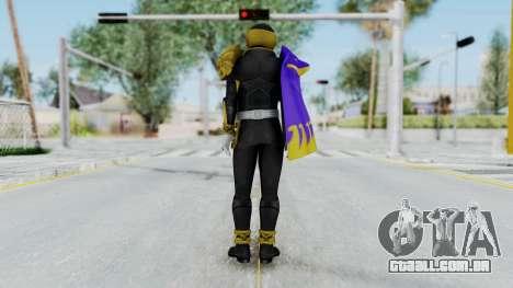 Kamen Rider Beast Dolphi para GTA San Andreas terceira tela