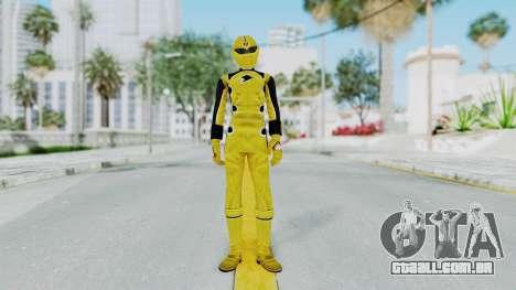Power Rangers Jungle Fury - Yellow para GTA San Andreas segunda tela