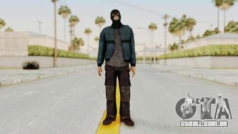 Wanted Weapons Of Fate Chicago Grunt Masked para GTA San Andreas segunda tela