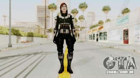 Mass Effect 3 Female Shepard Ajax Armor para GTA San Andreas segunda tela