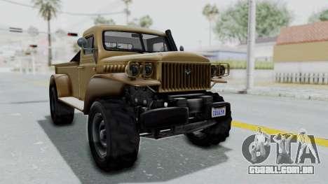 GTA 5 Bravado Duneloader Cleaner para GTA San Andreas