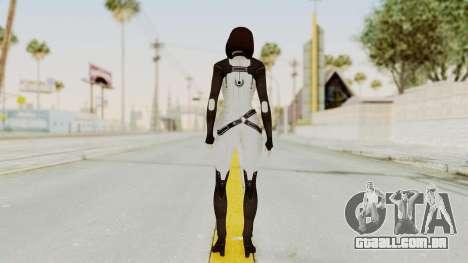 ME3 Dr. Eva Custom Miranda Castsuit para GTA San Andreas terceira tela