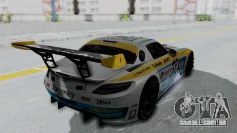 Mercedes-Benz SLS AMG GT3 PJ5 para GTA San Andreas vista interior