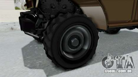 GTA 5 Bravado Duneloader Cleaner para GTA San Andreas vista traseira