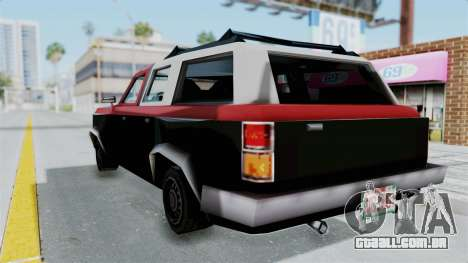 VCS Gang Rancher para GTA San Andreas esquerda vista