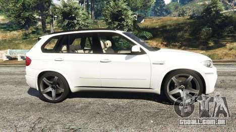 GTA 5 BMW X5 M vista lateral esquerda