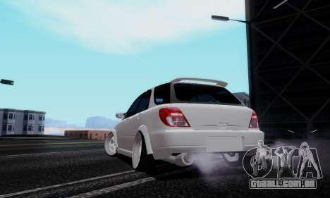 Subaru Impreza WRX STi Wagon Stens para GTA San Andreas esquerda vista