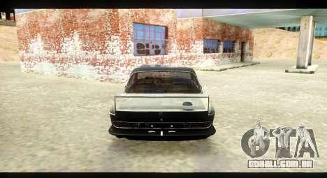BMW 3.0 CSL para GTA San Andreas vista direita