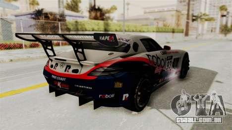 Mercedes-Benz SLS AMG GT3 PJ1 para as rodas de GTA San Andreas