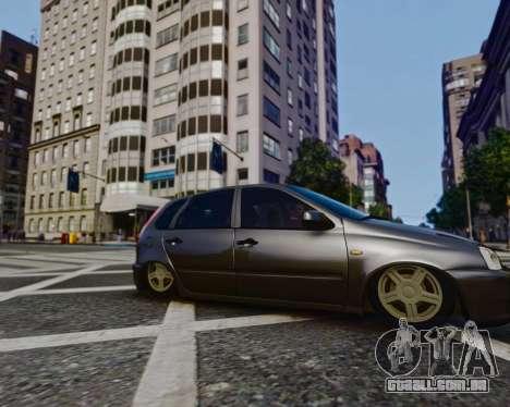 Lada Kalina para GTA 4 vista direita