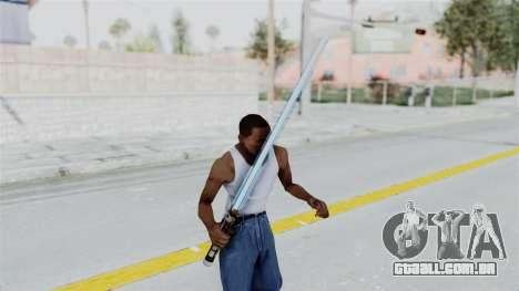 Star Wars LightSaber Blue para GTA San Andreas