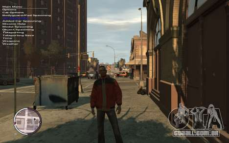 Native Trainer GTA EFLC ENG [STEAM] para GTA 4 segundo screenshot