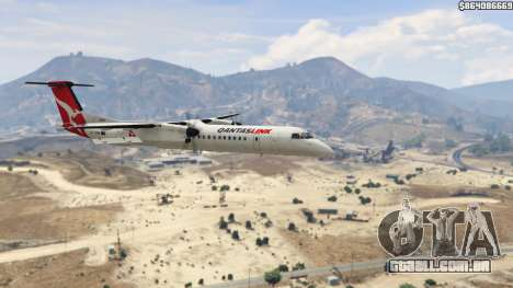 GTA 5 Bombardier Dash 8Q-400 sexta imagem de tela