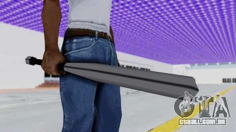 Liberty City Stories - Baseball Bat para GTA San Andreas segunda tela